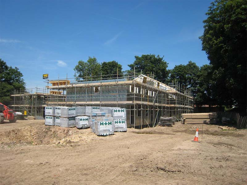 Chantry Hall, Westbourne MFS Cosntruction