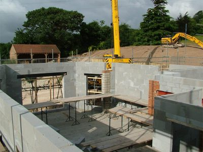 Fawkham House H+H Celcon Construction