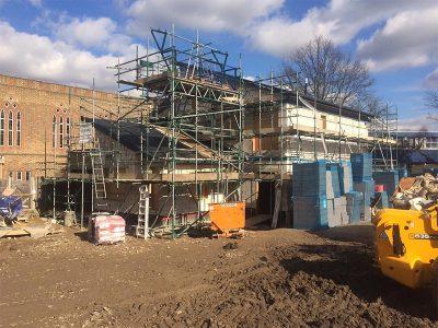 St Faiths Vicarage Construction MFS