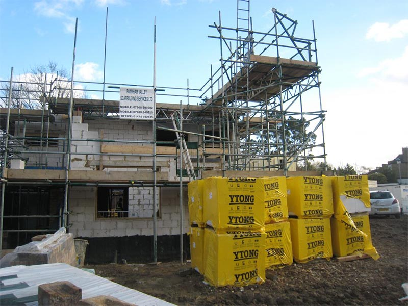 St Faiths Vicarage Construction MFS