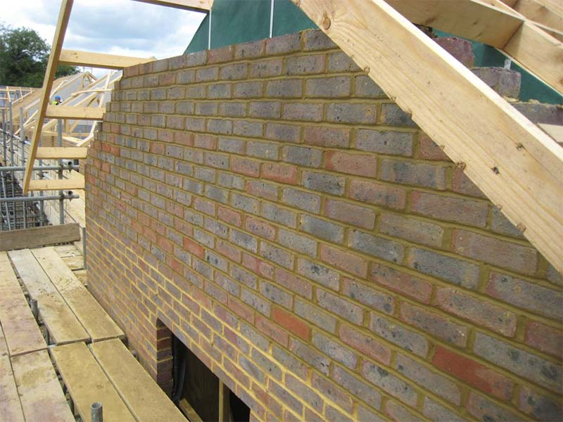 Gales Place Masonry Frame Systems