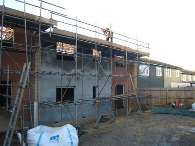 The Lindens Passivhaus Construction