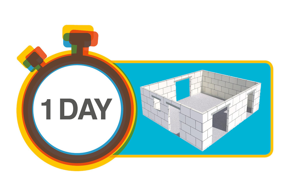 The Xella Silka Element Challenge – Building an Apartment in a Day