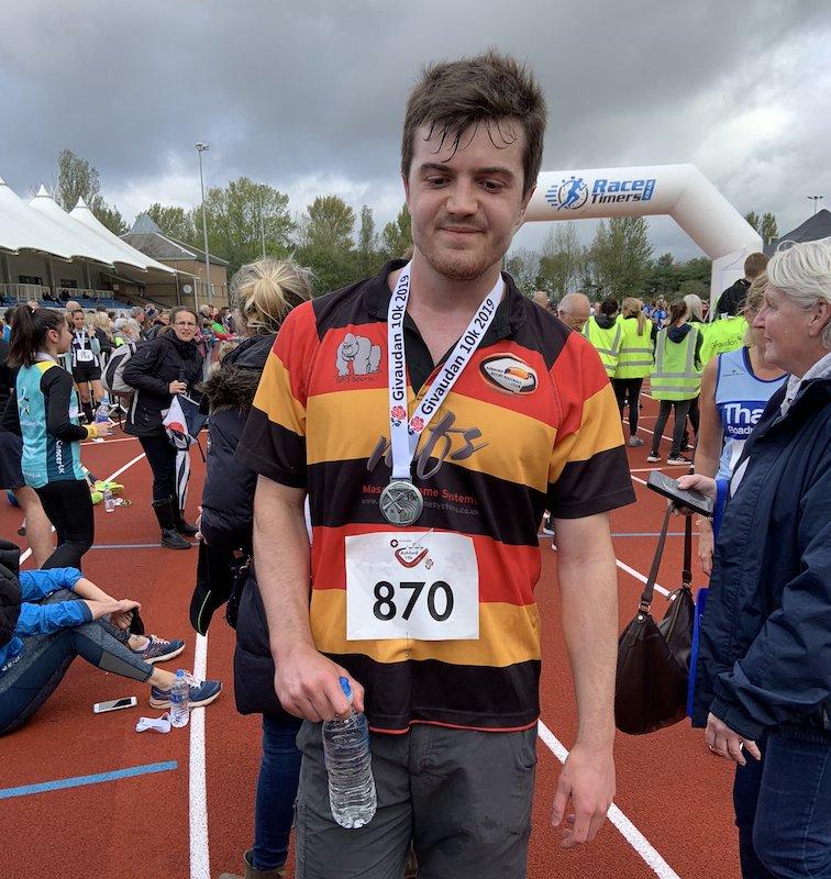 Matt runs 10k