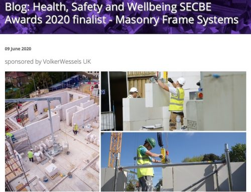 SECBE Blog: Health, Safety and Wellbeing SECBE Awards 2020 finalist