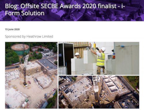 SECBE Blog: Offsite Finalist