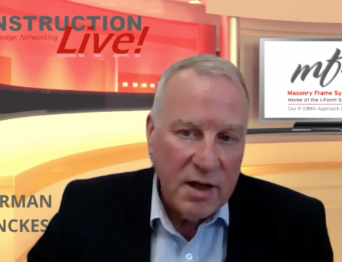 """""""Construction Live"""" on Sustainability 6th May 2021"""